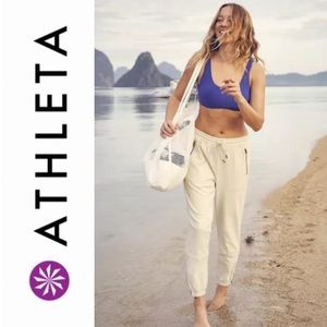 Athleta | Cream Farallon Joggers